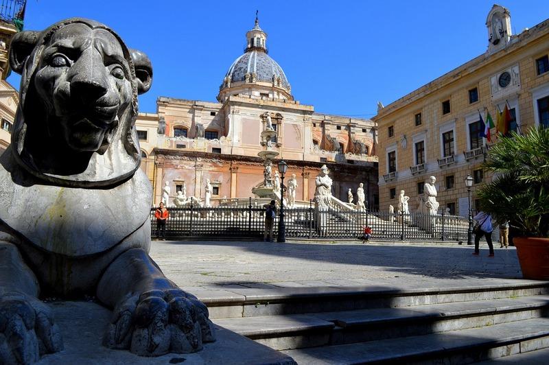פלרמו, סיציליה. תמונה מאתר pixabay