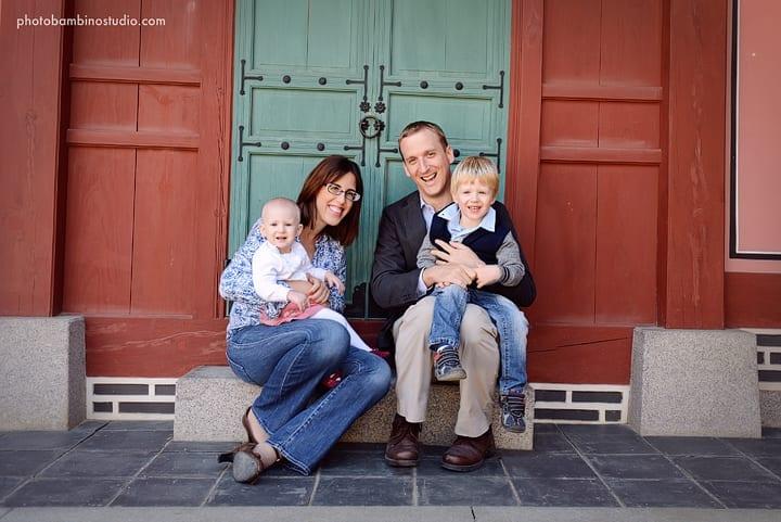 אני והמשפחה בארמון המלך