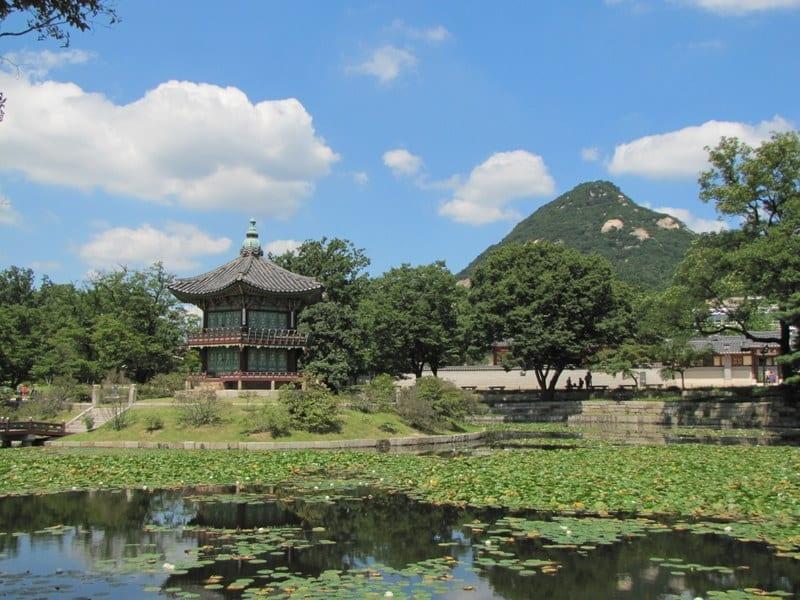 Gyeongbokgung ארמון המלך