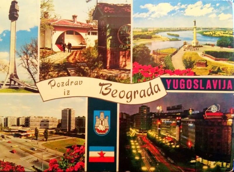 בלגרד, יגוסלביה לשעבר