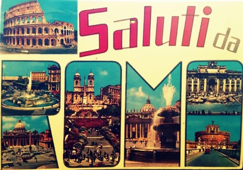 גלויה מרומא