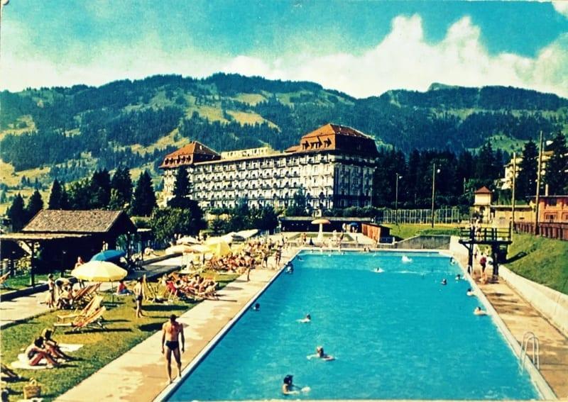 גלויה מבית מלון בשוויץ