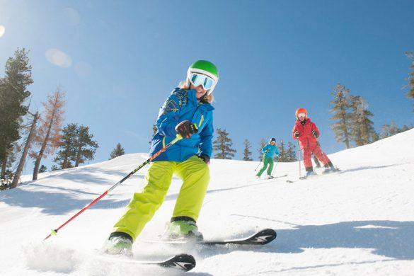 חופשת סקי משפחתית של סקי דיל