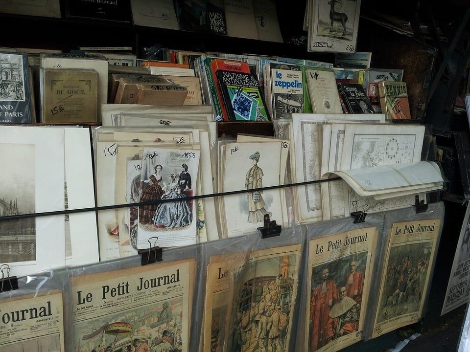 חנות ספרים פריז