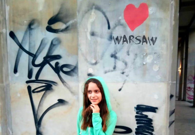 ורשה עם ילדים ונוער קניות ושיטוטים