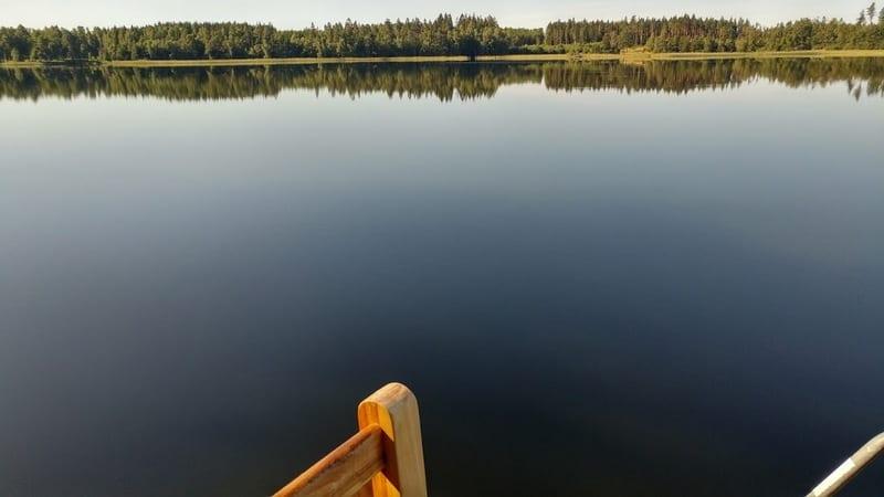 האגם שלנו בשוודיה