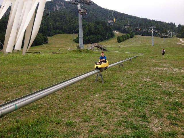 מגלשת הרים בסלובניה