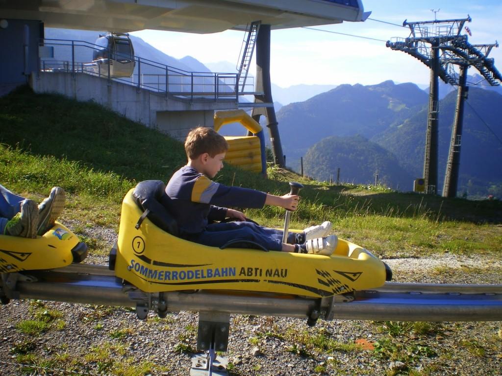 מגלשת הרים אוסטריה