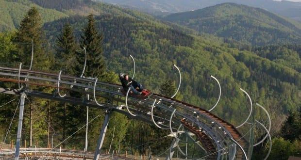 מגלשת הרים בפולין
