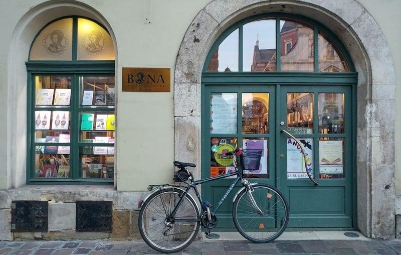 חנות ספרים קרקוב