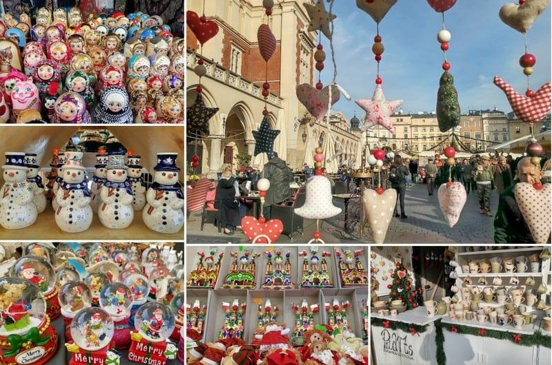 שוק חג מולד בקרקוב