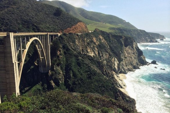 טיול ברכב בקליפורניה