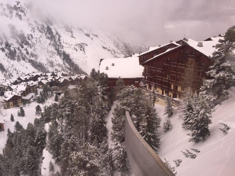 שלומית לפיד חופשת סקי באלפים הצרפתים
