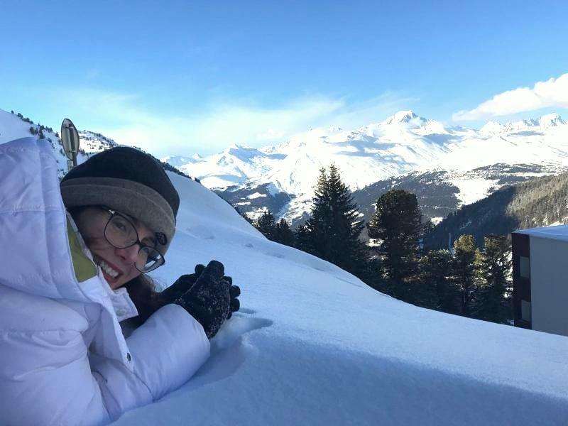 חופשת סקי באלפים הצרפתים שלומית לפיד
