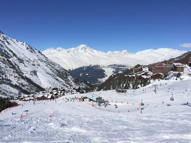 חופשת סקי באלפים הצרפתים צילום: שלומית לפיד