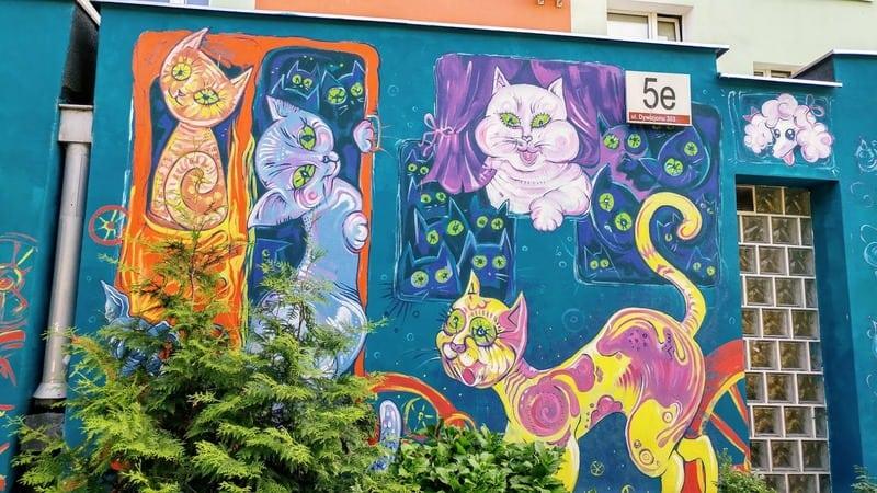 אמנות רחוב גדנסק
