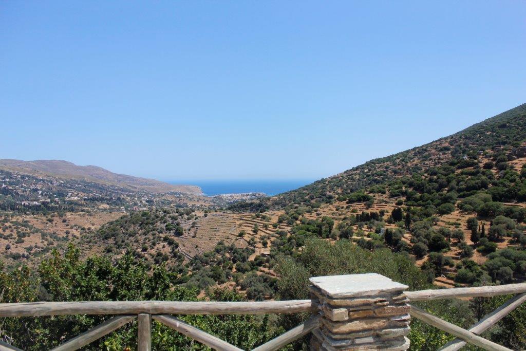 יוון עם ילדים חוף תצפית