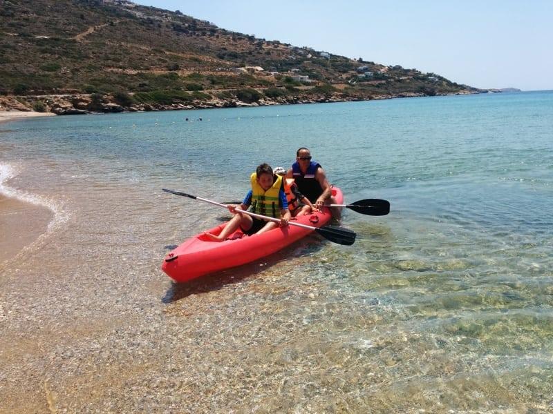 יוון עם ילדים חסקה