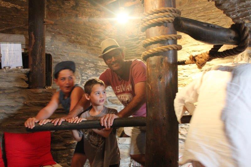 יוון עם ילדים - מוזיאון שמן זית