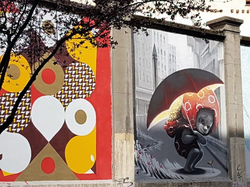 אמנות רחוב במדריד סיון רביבו
