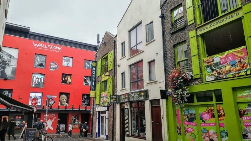 המלצות למסלול טיול בדבלין