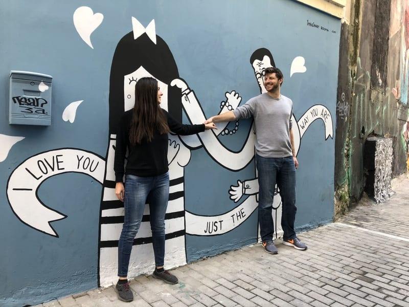 גרפיטי באתונה