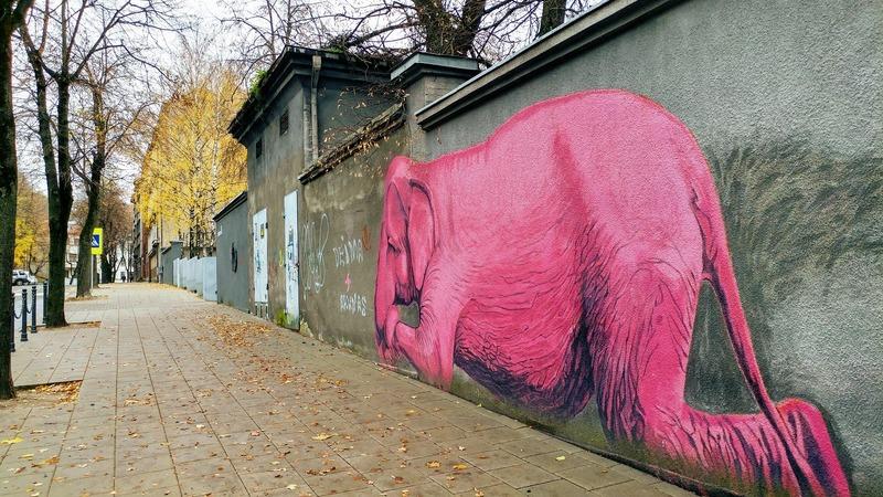 אמנות רחוב בקובנה ליטא