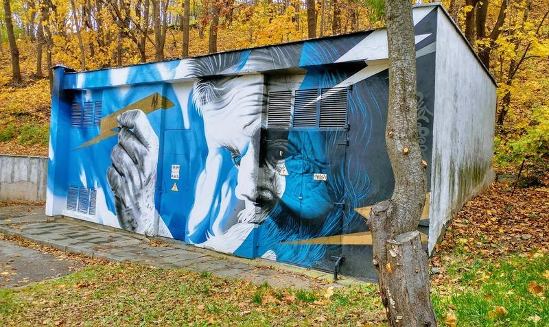 המלצות לחופשה בקובנה אמנות רחוב