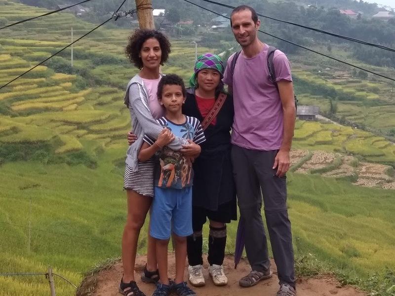 משפחה במסע