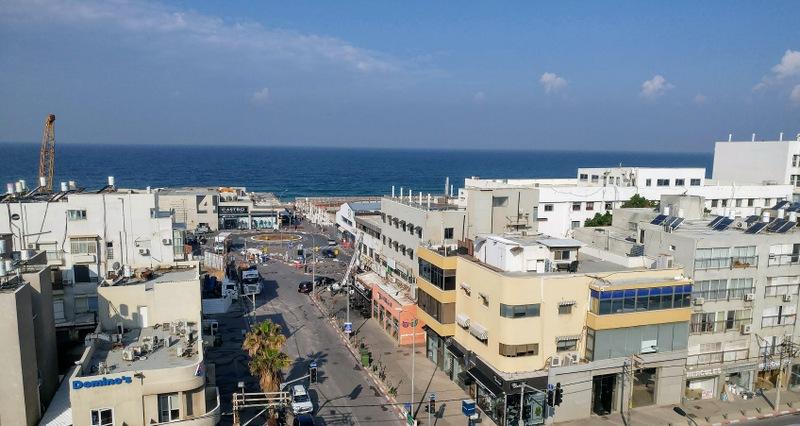נוף לים מלון בוטיק אטלס תל אביב