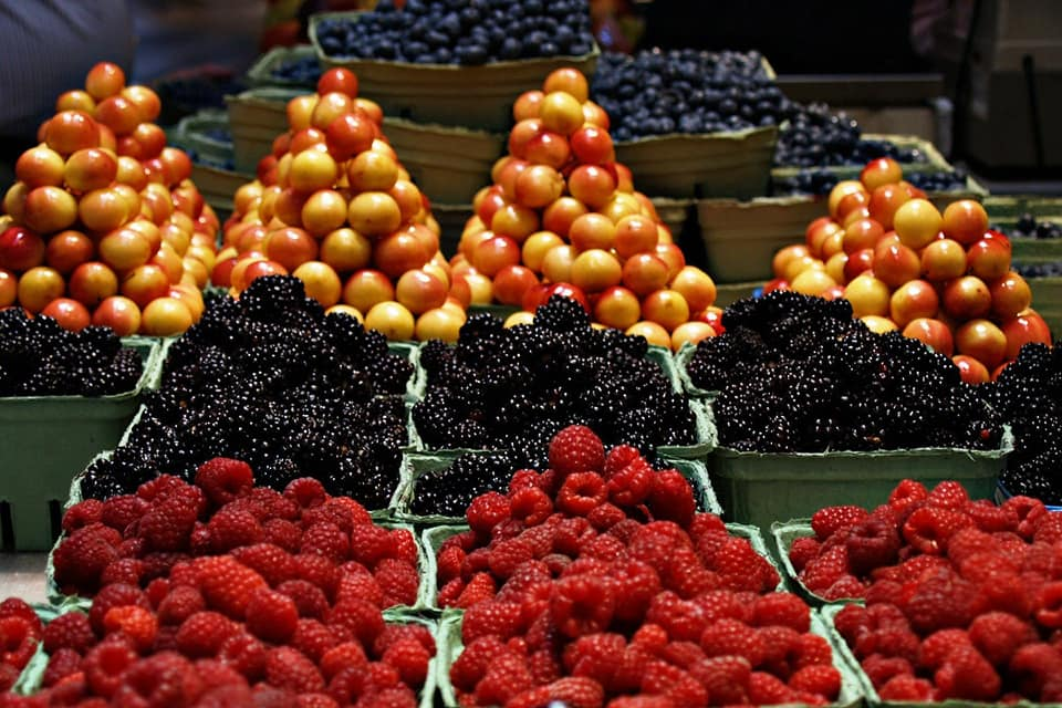 שוק פירות בפרובנס