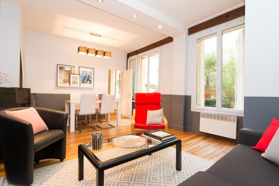 דירה מקסימה ברובע מונטורגיי בפריז