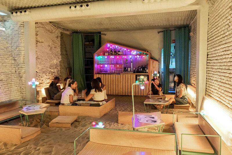 בית קפה במדריד