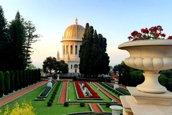 סיור בחיפה מקדש הבאהיים