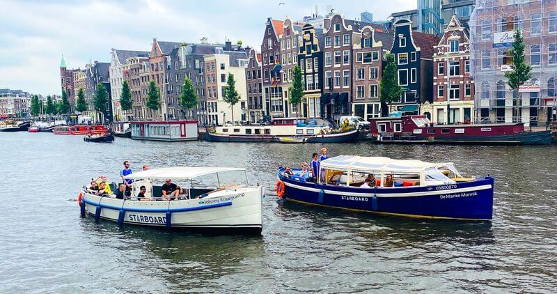 שייט באמסטרדם של Starboard Boats