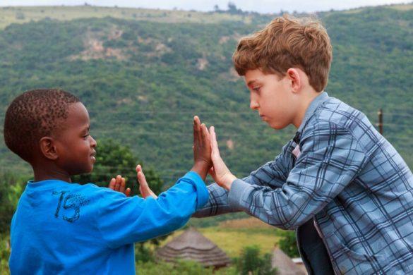 דרום אפריקה עם ילדים