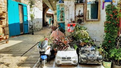 חופשה בעכו העתיקה אמנות רחוב בעכו