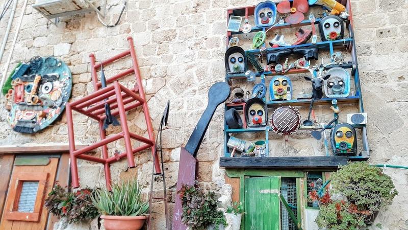 חופשה בעכו העתיקה אמנות רחוב בעכו סמטת קשאש