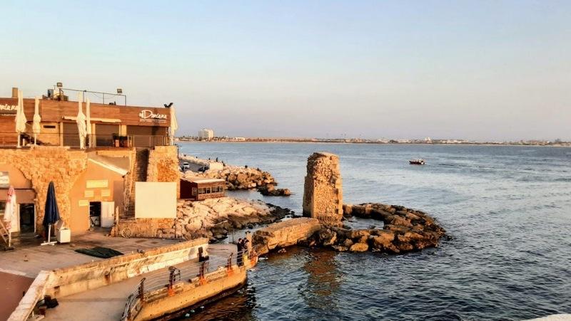 חופשה בעכו העתיקה חוף הים בעכו