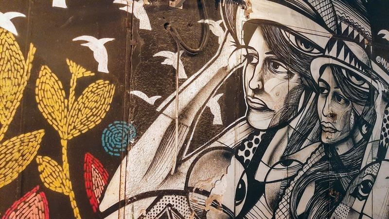 אמנות רחוב שוק הפשפשים