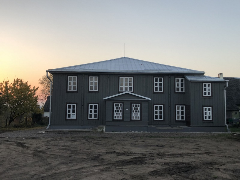 Wooden synagogue in Žiežmariai