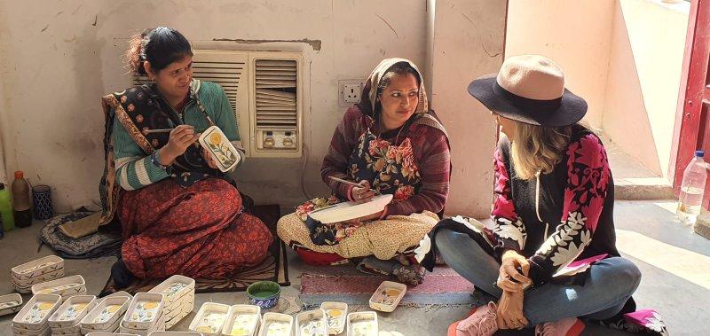 טיול בוטיק אופנה לנשים להודו